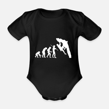 Escalade Evolution Bouldering Escalade T-shirt - Body bébé bio manches courtes