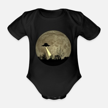 Ufo UFO - Organic Short-Sleeved Baby Bodysuit