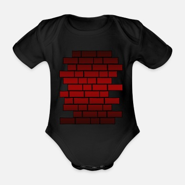 Wall Wall - Organic Short-sleeved Baby Bodysuit