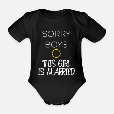 Wedding Party YOUNG WEDDING PARTY - WEDDING RING - Organic Short-sleeved Baby Bodysuit