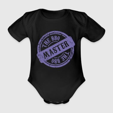 BBQ barbecue season gift barbecue grilling master - Organic Short-sleeved Baby Bodysuit