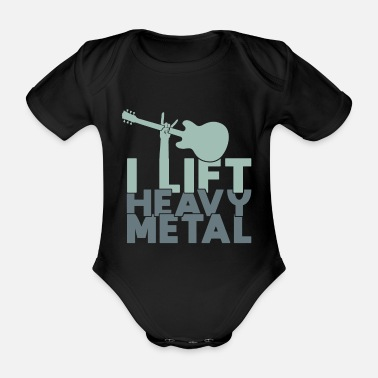 Heavy Metal Je relance le heavy metal heavy metal - Body bébé bio manches courtes
