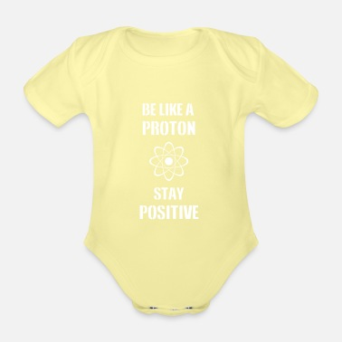 Physics Proton physics - Organic Short-Sleeved Baby Bodysuit