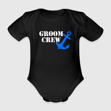 Wedding shower outfit - Organic Short-sleeved Baby Bodysuit