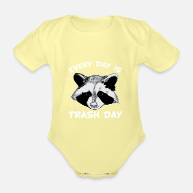 Rodent Raccoon | Animal | Rodent | rodent - Organic Short-Sleeved Baby Bodysuit