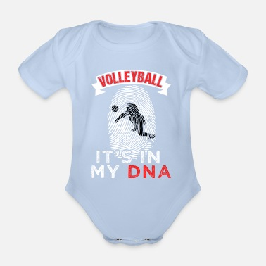 Volley Funny Volley It's In My DNA Gift - Body neonato a manica corta