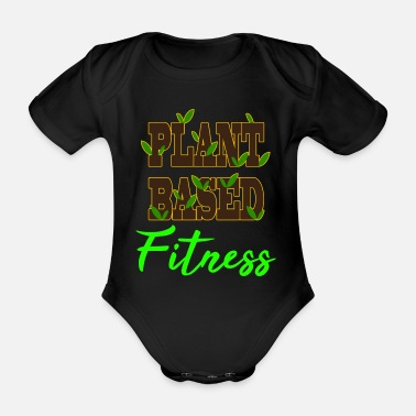 Nerd Plant lover? botanist? and science Nerd? Perfect - Organic Short-sleeved Baby Bodysuit