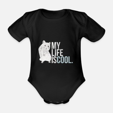 Rodent rodent - Organic Short-sleeved Baby Bodysuit