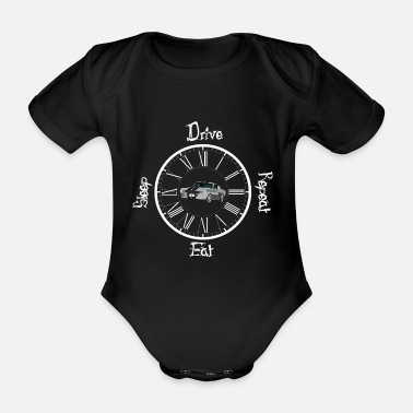 V8 V8 - Organic Short-Sleeved Baby Bodysuit
