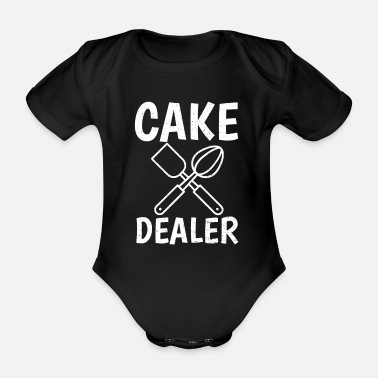 Butter to bake - Organic Short-sleeved Baby Bodysuit