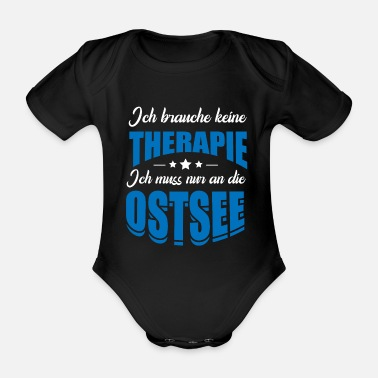 Baltic Sea Baltic Sea - Organic Short-sleeved Baby Bodysuit