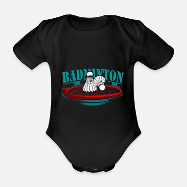 Sports Badminton racquet sports - Organic Short-Sleeved Baby Bodysuit