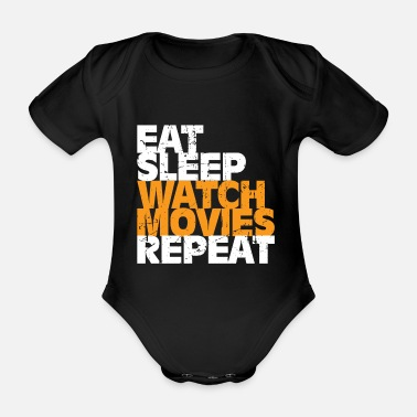 Movie Movie gift movies movie role - Organic Short-Sleeved Baby Bodysuit