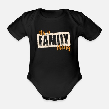 Tradition Familie Tradition - Baby Bio Kurzarmbody