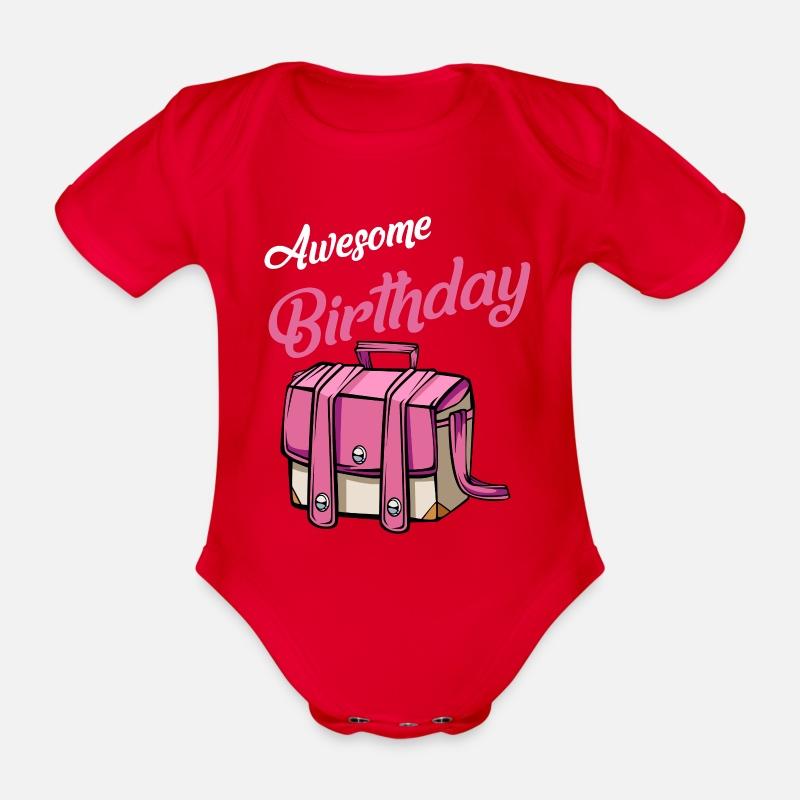 Baby T-Shirt Kurzarm Geburtstagskind B/är Geburtstag Baby
