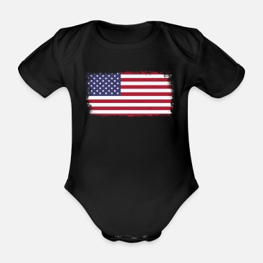 Newborn Kids Bodysuits USA Georgia Flag Heart Baby Clothes