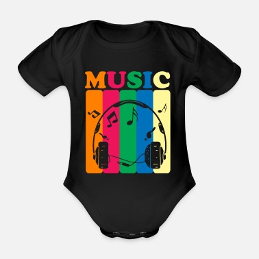 Style Of Music Music style of music - Organic Short-Sleeved Baby Bodysuit