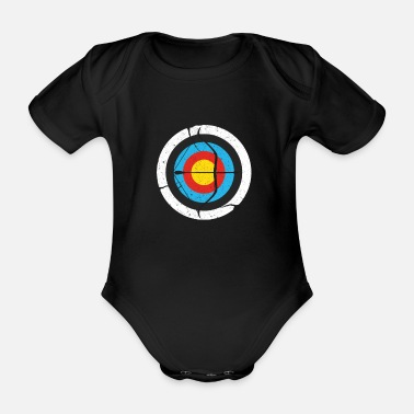 Archers archer - Organic Short-Sleeved Baby Bodysuit