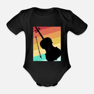 Cello cello - Organic Short-Sleeved Baby Bodysuit
