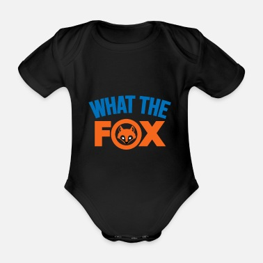 Clever Fox gift clever intelligent animals present - Baby Bio Kurzarmbody