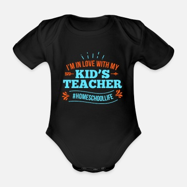 Private Tutoring Home Tuition Private Teacher Learning Gift Idea - Organic Short-Sleeved Baby Bodysuit