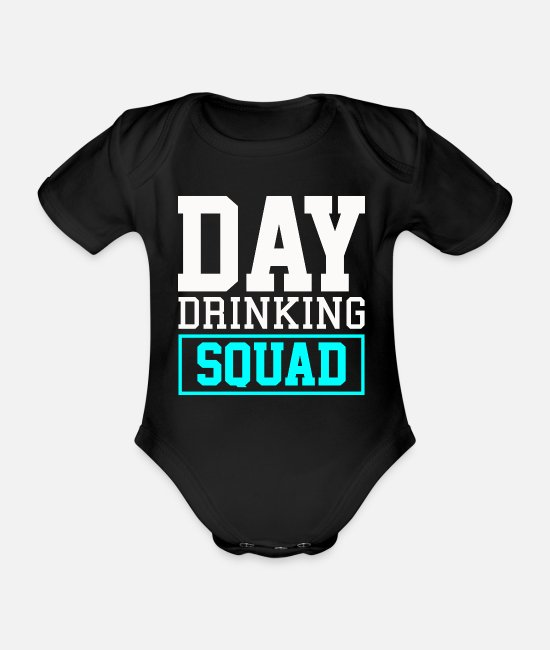 Quote Baby Bodysuits - Tagestructive troop citations - Organic Short-Sleeved Baby Bodysuit black
