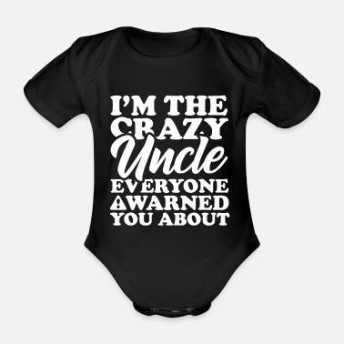 Uncle uncle - Organic Short-Sleeved Baby Bodysuit