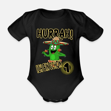 Childbirth Cactus for childbirth - Organic Short-Sleeved Baby Bodysuit