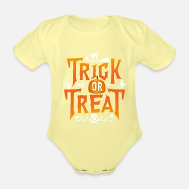 Trick Or Treat Trick Or Treat - Body Bébé bio manches courtes