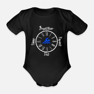 Aquathlon Aquathlon - Organic Short-Sleeved Baby Bodysuit