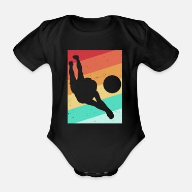 Game Volleyball unicorn volleyball player - Organic Short-Sleeved Baby Bodysuit