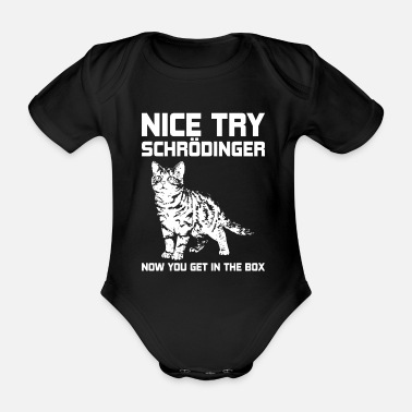Physics physics - Organic Short-Sleeved Baby Bodysuit