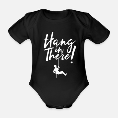 Rappel Rappel hold on - Organic Short-Sleeved Baby Bodysuit