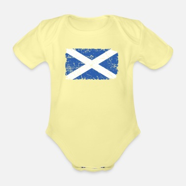 Scotland Scotland - Organic Short-Sleeved Baby Bodysuit