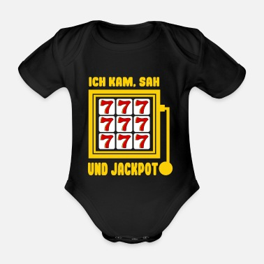 Screening I came, saw and win Jackpot Casino Spielo Sayings - Organic Short-Sleeved Baby Bodysuit