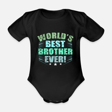 Brothers Brothers - Organic Short-Sleeved Baby Bodysuit