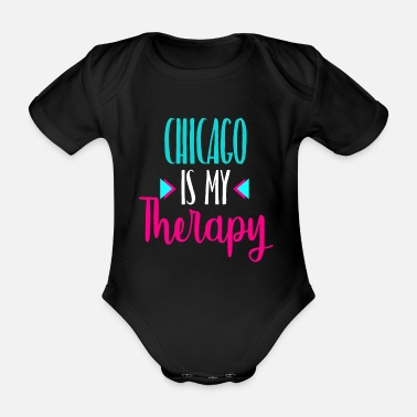 Chikago Chicago Illinois The Windy City Amerika America - Baby Bio Kurzarmbody