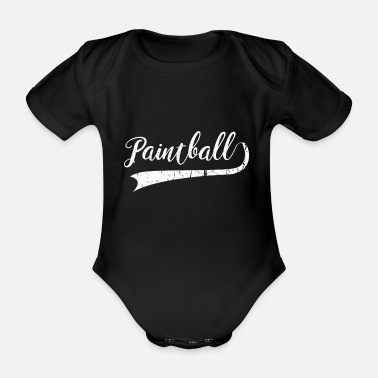 Paintballer Paintball paintballer - Organic Short-Sleeved Baby Bodysuit