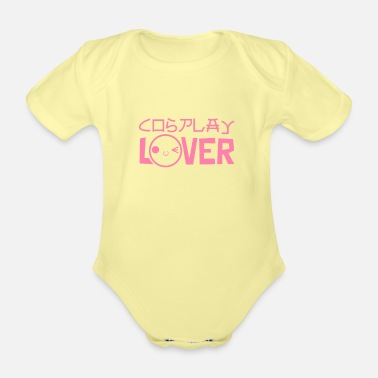 I Love Cosplay lovers - Organic Short-Sleeved Baby Bodysuit