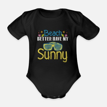 Sunglasses sunglasses - Organic Short-sleeved Baby Bodysuit