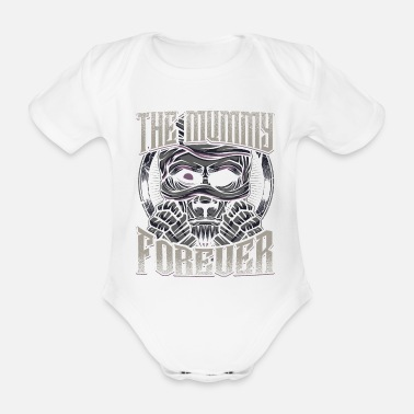 Mummie mummy - Organic Short-Sleeved Baby Bodysuit