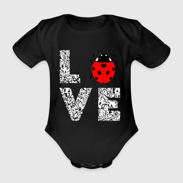 Coccinelle Love Insect Insects Gifts - Body ecologico per neonato a manica corta