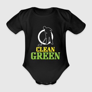 Caretaker Environmentally conscious - Organic Short-sleeved Baby Bodysuit