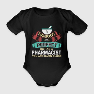 Pharmacy pharmacist gift - Organic Short-sleeved Baby Bodysuit