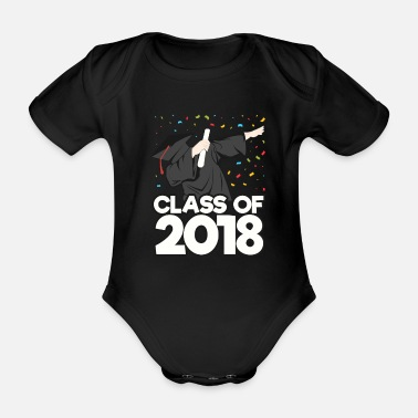 Class Of 2018 Class of 2018 - Organic Short-sleeved Baby Bodysuit