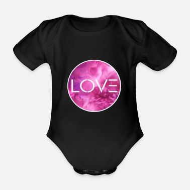 Civil Rights Love love, attitude, human rights, civil rights - Organic Short-Sleeved Baby Bodysuit