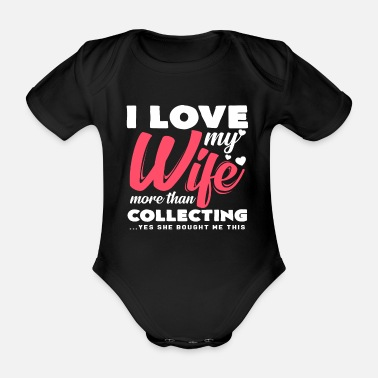 Collections Collecting - Organic Short-Sleeved Baby Bodysuit