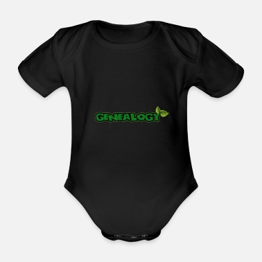 Ancestor Genealogy family tree ancestors ancestors - Organic Short-Sleeved Baby Bodysuit