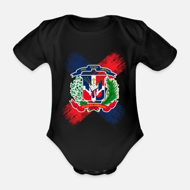Republik Dominikanische Republik - Baby Bio Kurzarmbody