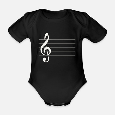Instrument Music instrument wind instrument musical instrument - Organic Short-Sleeved Baby Bodysuit